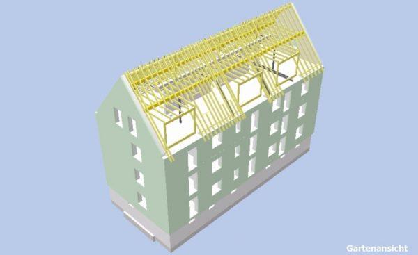 Neubau eines Mehrfamilienhauses in Hilden