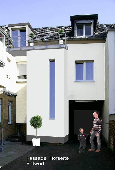 Umbau eines Zweifamilienhauses in Lohmar