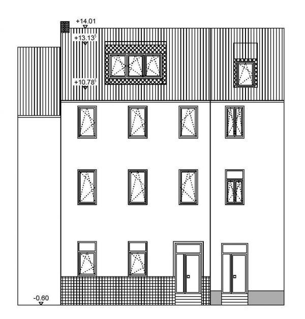 Umbau eines Zweifamilienhauses in Bonn (Altstadt)