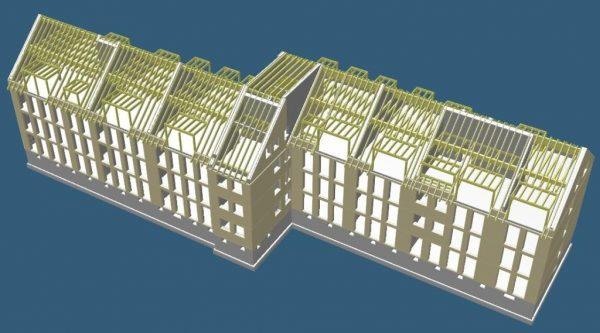 Neubau eines Mehrfamilienhauses in Köln