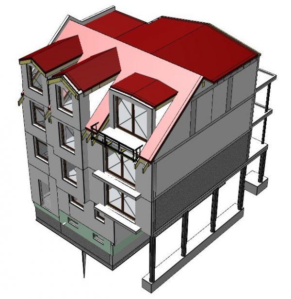 Neubau eines Mehrfamilienhauses in Troisdorf