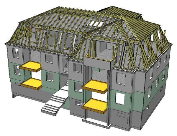 Neubau eines Mehrfamilienhauses in Wuppertal